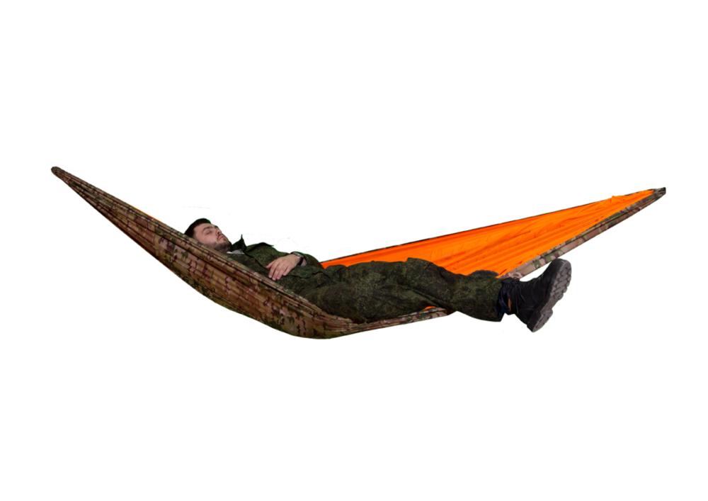 Туристический гамак мультикам-оранжевый