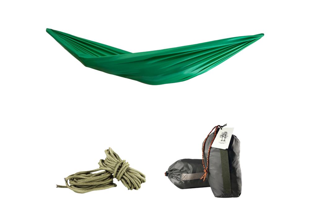 Гамак подвесной зеленый