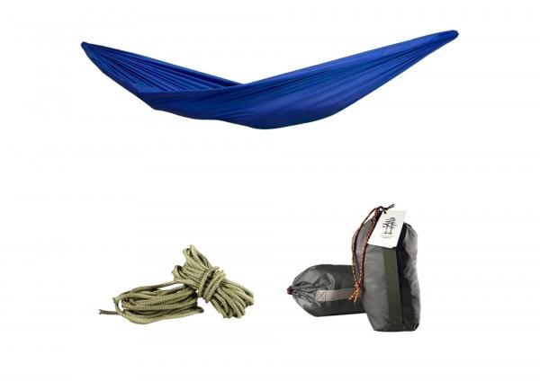 Гамак подвесной синий