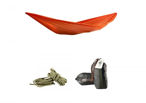 Гамак подвесной оранжевый