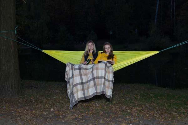 Двухместные гамаки палатка